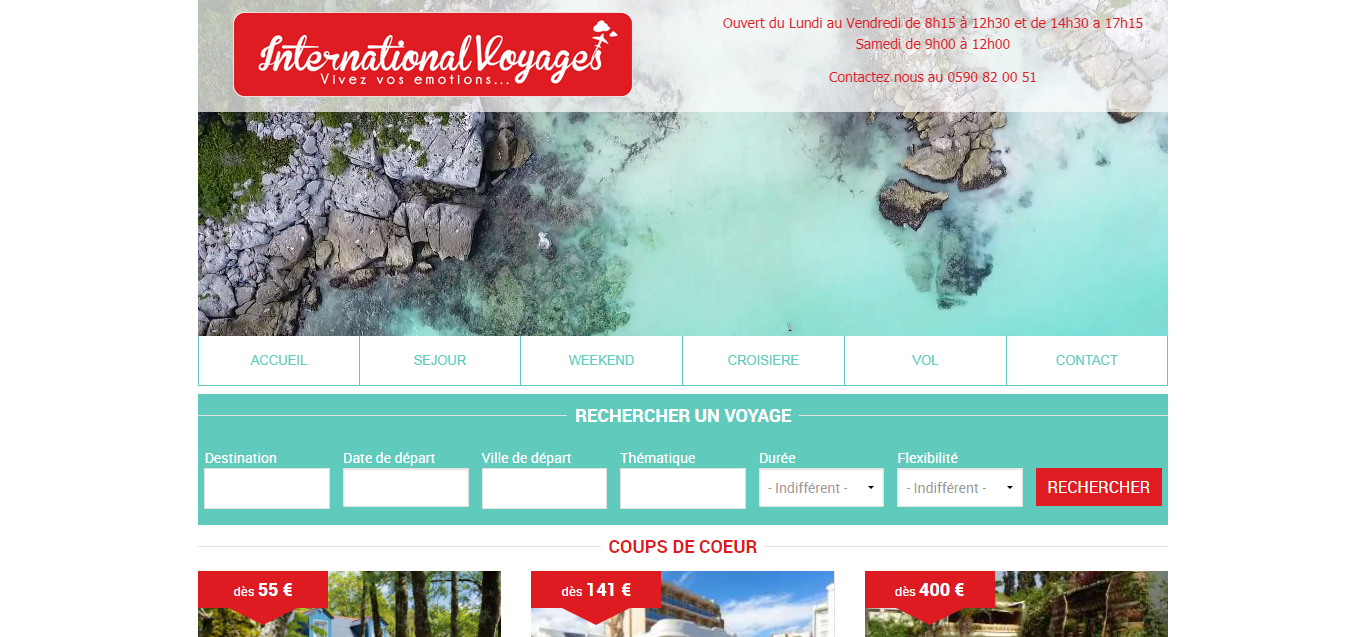 International Voyages