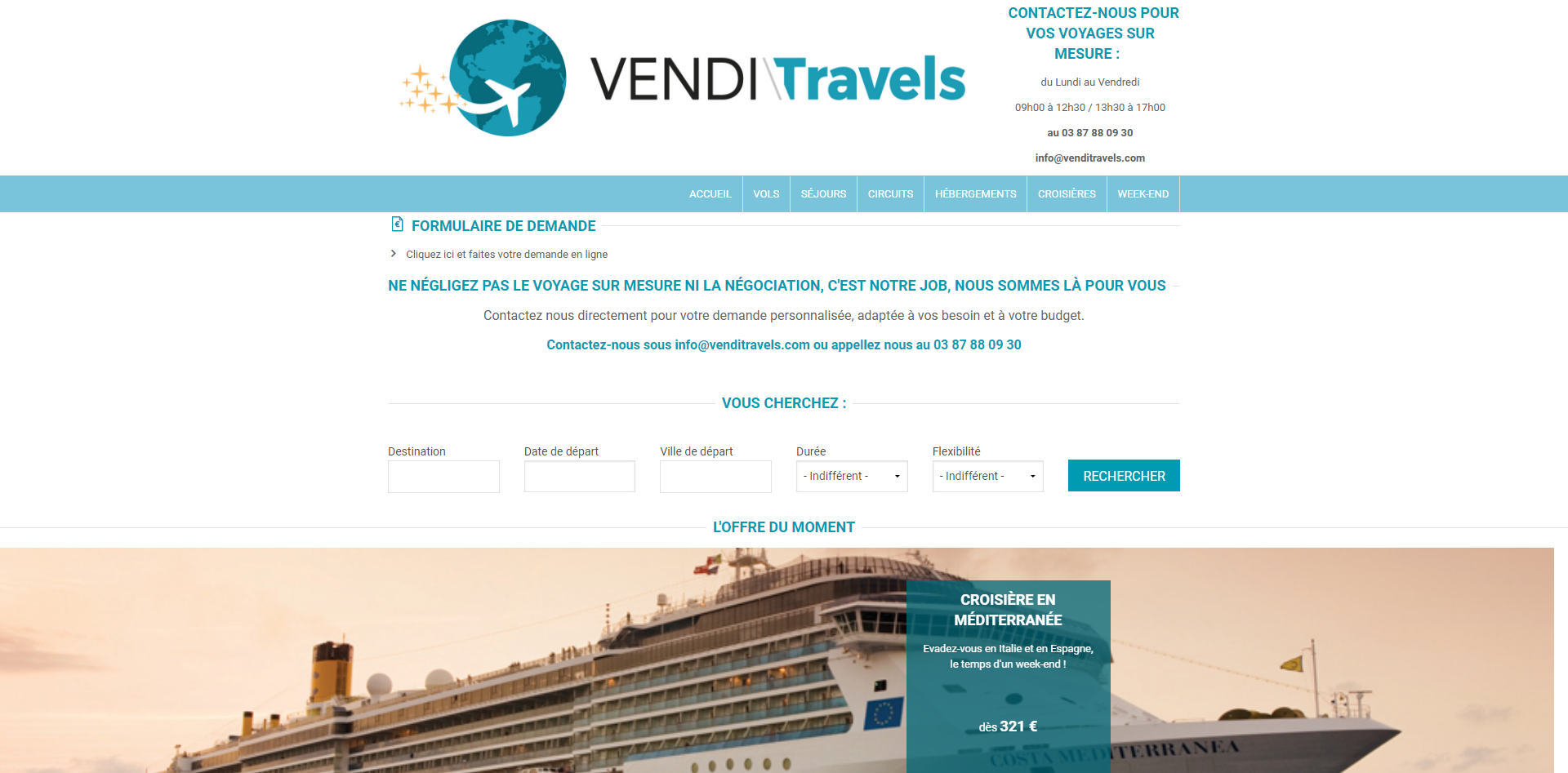 Vendi\Travels