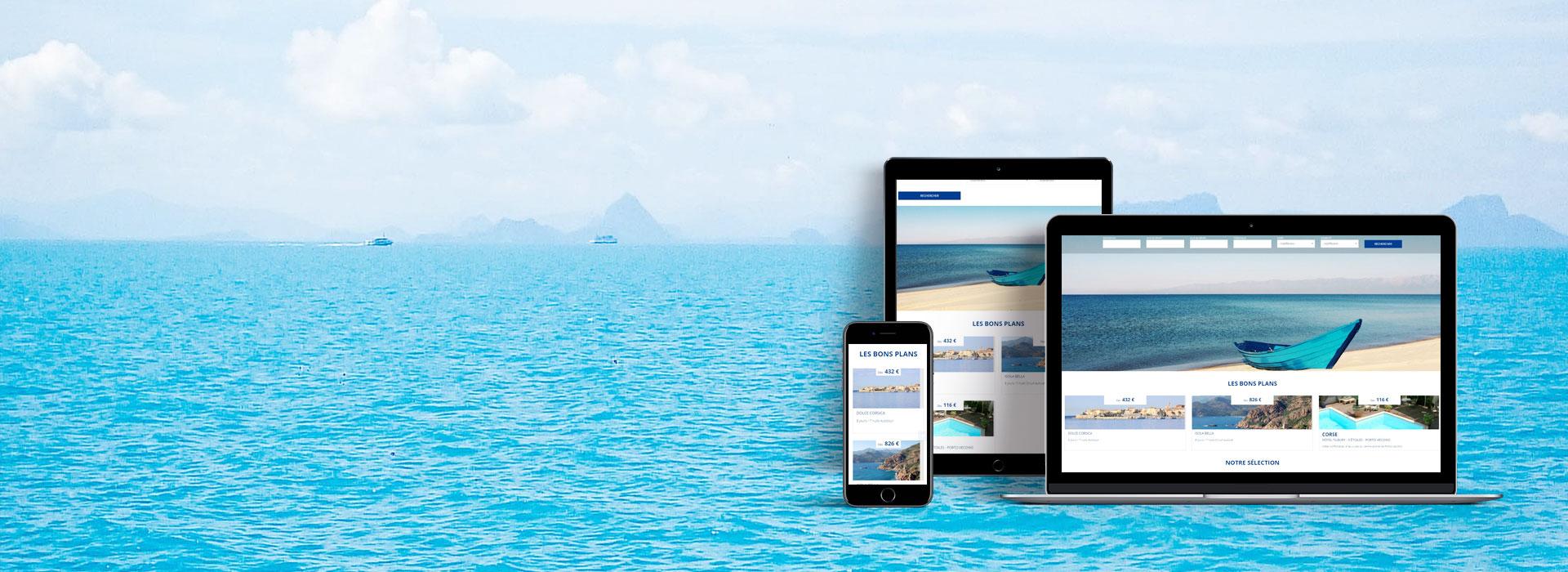 Kit Speedmedia - site e-travel responsive prêt à l'emploi